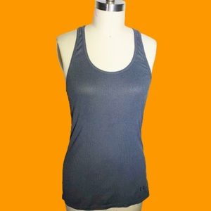 Under Armor Gray Racer-back Workout Tank